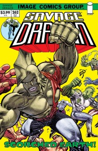 SAVAGE DRAGON #262 CVR B RETRO 70S TRADE DRESS