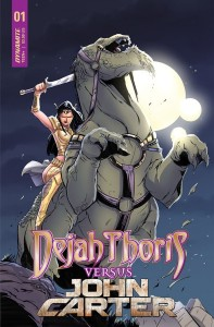 DEJAH THORIS VS JOHN CARTER OF MARS #1 CVR C MIRACOLO
