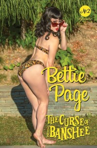 BETTIE PAGE & CURSE OF THE BANSHEE #2 CVR D COSPLAY