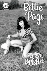 BETTIE PAGE & CURSE OF THE BANSHEE #2 CVR E BETTIE PAGE PIN UP