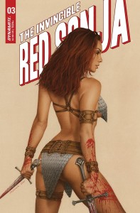 INVINCIBLE RED SONJA #3 CVR C CELINA