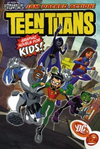 TEEN TITANS JAM-PACKED ACTION TP VOL 01