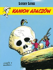 Lucky Luke Tom 37 Kanion Apaczów