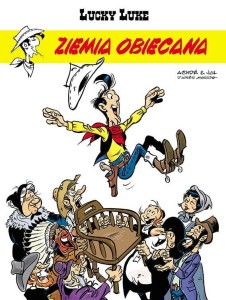 Lucky Luke Tom 80 Ziemia obiecana