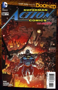 ACTION COMICS #34 (DOOMED) (N52)