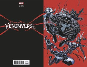 VENOMVERSE #1 (OF 5) BRADSHAW VIRGIN VAR (VF)