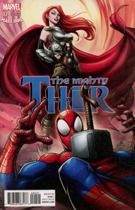 MIGHTY THOR #20 BROWN MARY JANE VAR