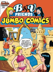 B & V FRIENDS JUMBO COMICS DIGEST #263