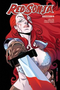 RED SONJA #25 CVR D WILLIAMS