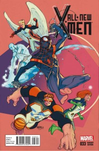 ALL NEW X-MEN #33 FERRY VAR