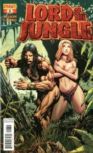 LORD OF THE JUNGLE #6 35 COPY TORN RISQUE INCV