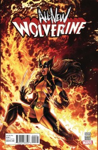 ALL NEW WOLVERINE #9 CW REENACTMENT VAR