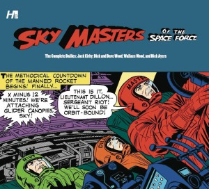 SKY MASTERS O.T SPACE FORCE COMP DAILIES HC VOL 2ND PTG