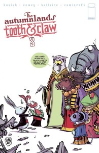 AUTUMNLANDS TOOTH & CLAW #3 CVR B YOUNG