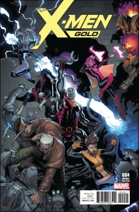 X-MEN GOLD #4 MARQUEZ VAR