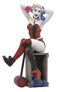 DC GALLERY SUICIDE SQUAD HARLEY QUINN PVC FIG