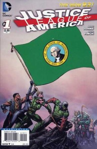 JUSTICE LEAGUE OF AMERICA #1 WASHINGTON VAR ED (N52)