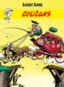 Lucky Luke Tom 32 Dyliżans