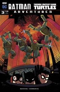BATMAN TMNT ADVENTURES #3 (OF 6) SUBSCRIPTION VAR