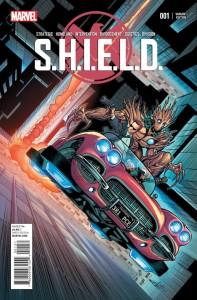 SHIELD #1 SCHITTI YOUNG GUNS VAR VF