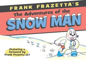 FRANK FRAZETTA ADVENTURES OF SNOW MAN HC