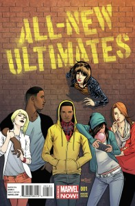 ALL NEW ULTIMATES #1 MARQUEZ VARIANT