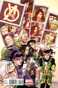 YOUNG AVENGERS #4 LAFUENTE VAR NOW