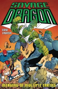 SAVAGE DRAGON MERGING OF MULTIPLE EARTHS TP