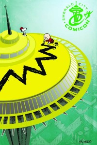 PEANUTS VOL 2 #6 EMERALD CITY COMIC CON CVR