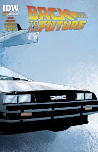 BACK TO THE FUTURE #2 SUBSCRIPTION VAR