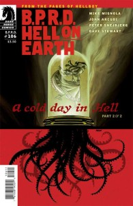BPRD HELL ON EARTH #106 COLD DAY IN HELL #2 (OF 2)
