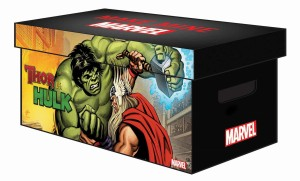 MARVEL GRAPHIC COLLECTION BOX THOR VS HULK (pudło na TP)