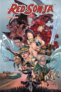 RED SONJA #16 CVR E GOMEZ EXC SUBSCRIPTION VAR