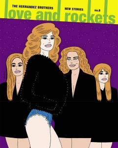LOVE AND ROCKETS NEW STORIES TP VOL 08