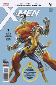 X-MEN WEDDING SPECIAL #1 2ND PTG JS CAMPBELL VAR