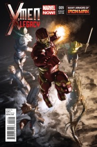 X-MEN LEGACY #9 IRON MAN MANY ARMORS PAREL VAR NOW2