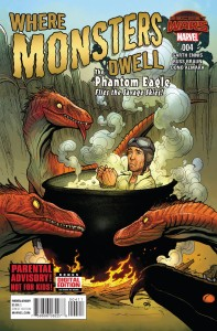 WHERE MONSTERS DWELL #4 (OF 5)