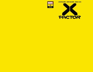 X-FACTOR #1 YELLOW VAR
