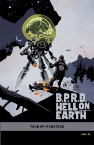 BPRD HELL ON EARTH RETURN OF THE MASTER #1 (OF 5) MIGNOLA VAR CVR