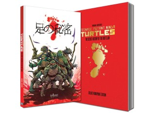 TMNT SECRET HISTORY OF THE FOOT CLAN DELUXE WORKPRINT ED