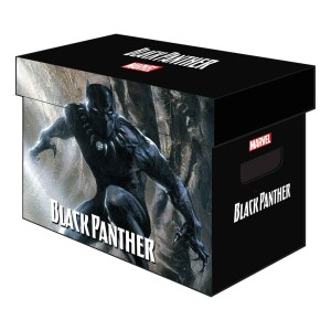 MARVEL GRAPHIC COMIC BOXES BLACK PANTHER