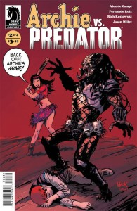 ARCHIE VS PREDATOR #2 (OF 4) HACK ULTRA RARE VAR CVR