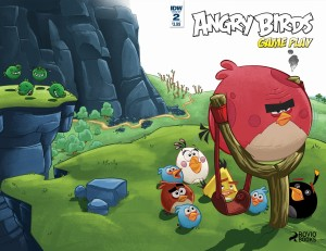 ANGRY BIRDS COMICS GAME PLAY #2 SUBSCRIPTION VAR