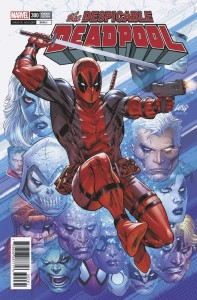 DESPICABLE DEADPOOL #300 LIEFELD VAR