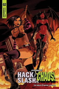 HACK SLASH VS CHAOS #2 CVR C CELOR