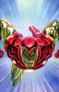 TONY STARK IRON MAN #1 ALEX ROSS VIRGIN VAR