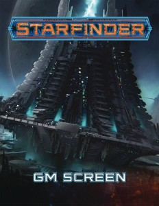 STARFINDER RPG GM SCREEN