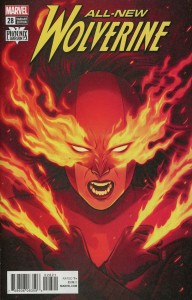 ALL NEW WOLVERINE #28 BARTEL PHOENIX VAR LEG