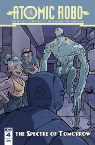 ATOMIC ROBO SPECTRE OF TOMORROW #4 CVR A WEGENER