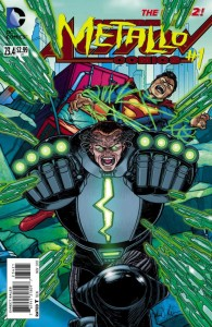 ACTION COMICS #23.4 METALLO STANDARD 2D EDITION (N52)